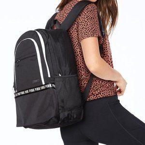 NIP VS Pink Collegiate Backpack Full Size
